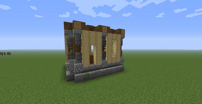 Как возвести стены дома в Minecraft