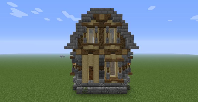 Как построить стильный дом в Minecraft