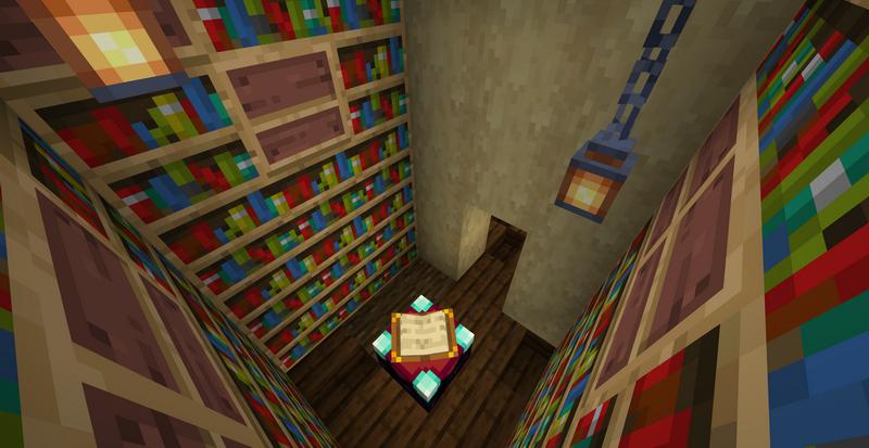 Делаем стены из книжных полок