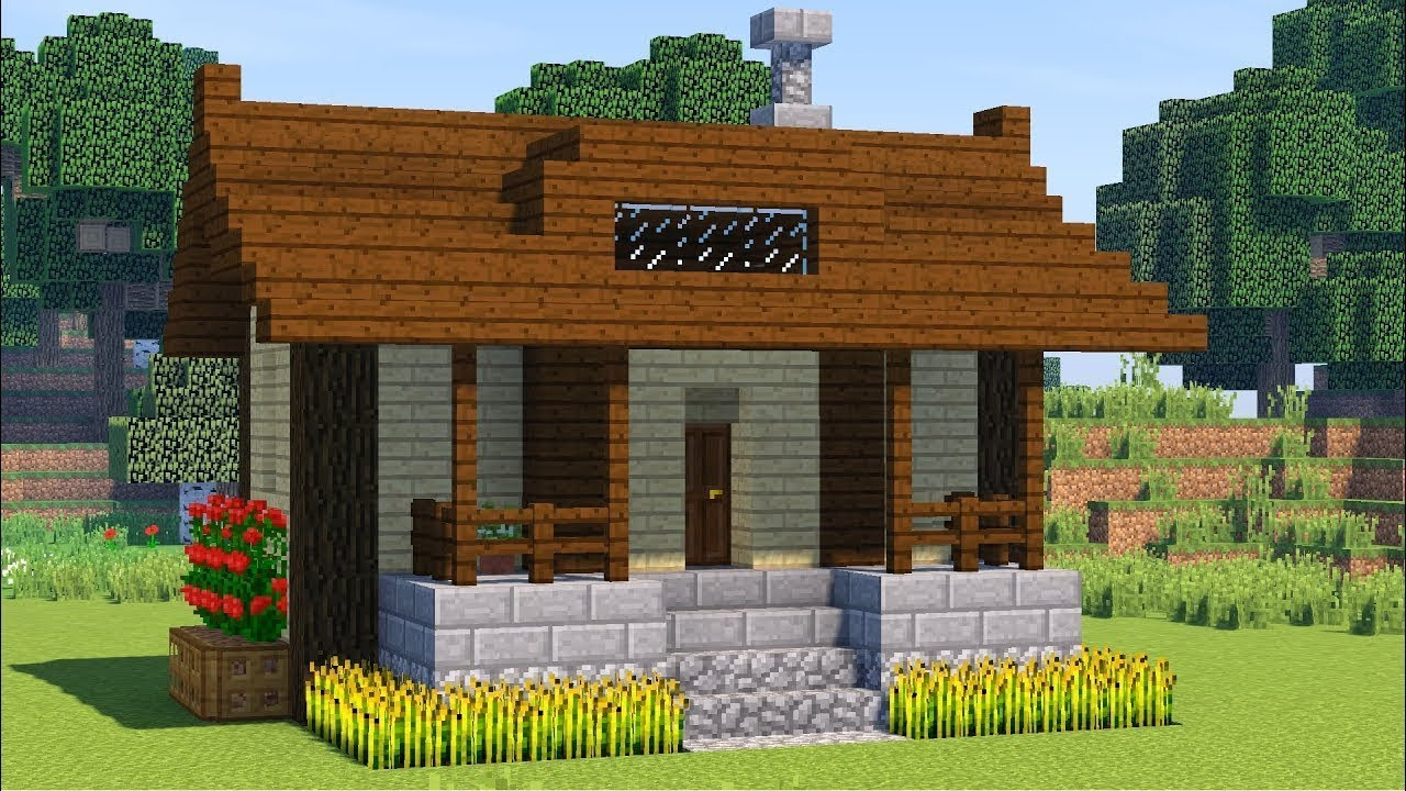 Новичкам в Майнкрафте подходят простые дома